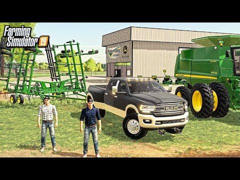 JOHN DEERE DEALERSHIP VISIT! WITH $400,000 BUDGET FOR EQUIPMENT (ROLEPLAY) | FARMING SIMULATOR 2019