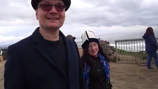 С Лией и Стэном - бродилка вдоль океана