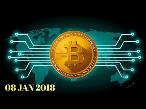 Live Streaming Harga Bitcoin Dan Crytocurrency Lainnya Di VIP Bitcoin Indonesia (08 Januari 2018)