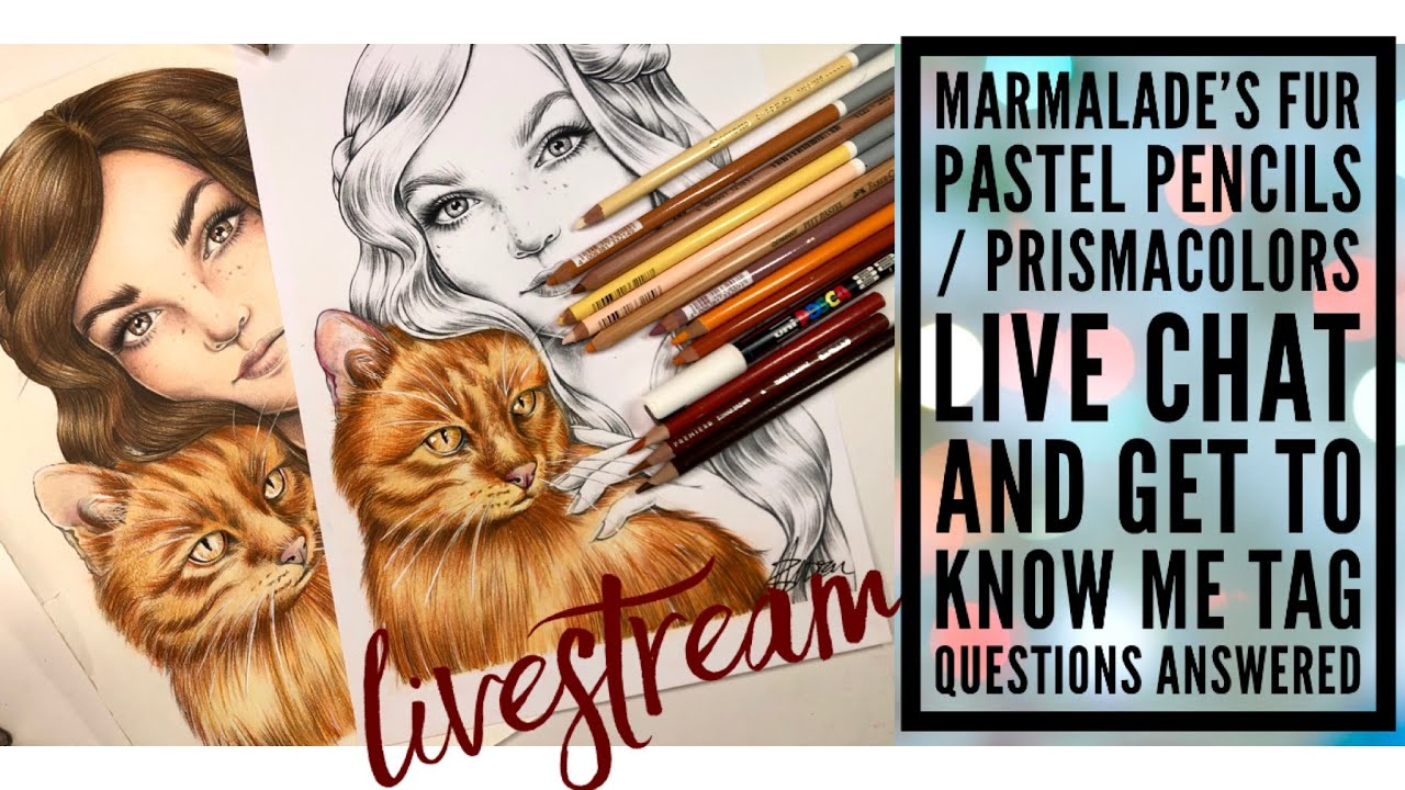 Colouring Fur LIVESTREAM | Get to know me TAG Live & Live chat
