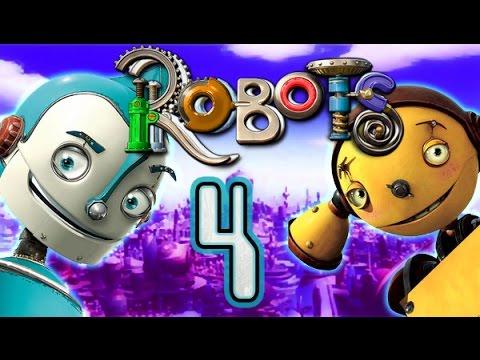 Robots Walkthrough Part 4 The Movie Game Ps2 Xbox