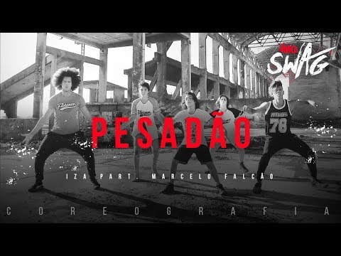 Pesadão - IZA part. Marcelo Falcão | FitDance SWAG (Choreography) Dance Video