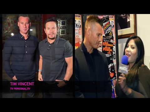 ART IN FUSION TV - INTERVIEW WITH TV PERSONALITY TIM VINCENT