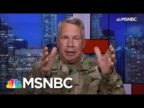 Army Corps Of Engineers Gives Options To States Facing COVID Crush | Rachel Maddow | MSNBC