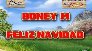 Boney M - Feliz navidad Karaoke