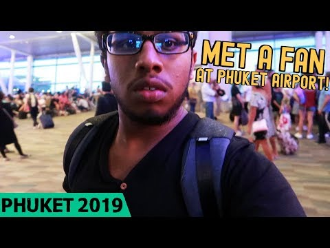 MET A FAN AT PHUKET AIRPORT! – Phuket Solo Travel (Day 4) | TaneshhVlogs