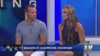 "Winners Of ""The Amazing Race"" Stop by CBS 11"