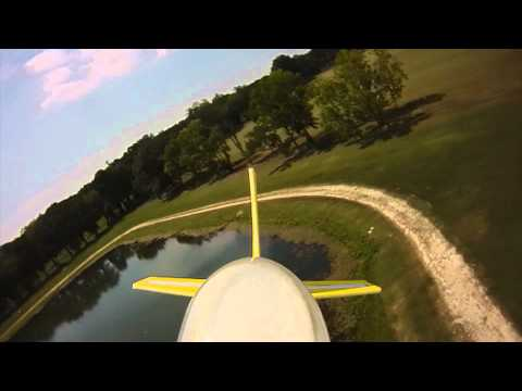 Hacker Edge flight with aircradft mounted camera