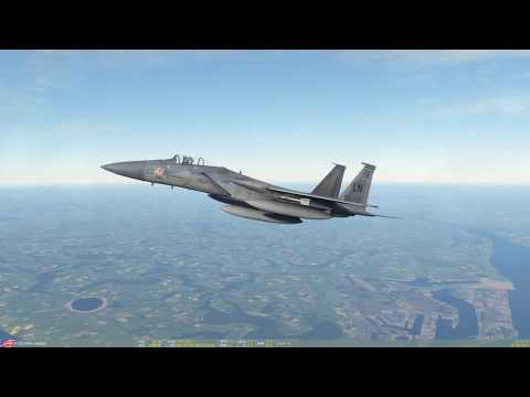 DCS: Normandy 1944 Map Live Stream - F-15C Fun, or what happens when you forget to set up controls