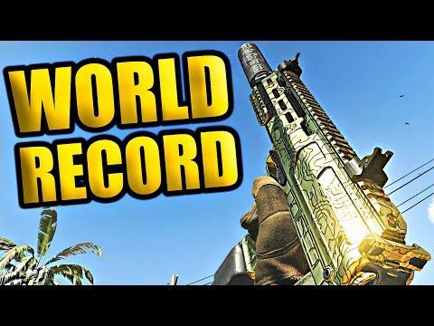 Modern Warfare 117-2 WORLD RECORD! (Shoot House 100+ Kills Gold MP5K Best Rushing Class MW)
