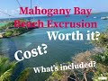 Mahogany Bay Honduras | Beach Excrusion