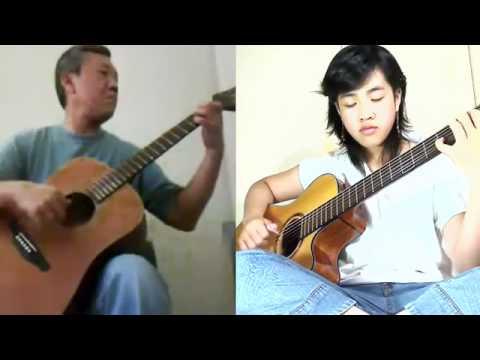 Sương Trắng Miền Quê Ngoại - Song Tấu Guitar