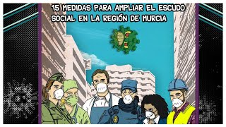 Las medidas para traer el #EscudoSocial a la Región de Murcia