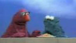 Sesame Street - Telly Monster and Cookie Monster