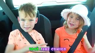 Cinco Crianças - Estamos na do carro | Canções infantis