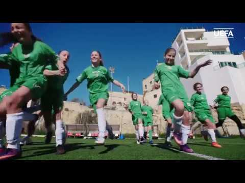 Boosting the women's football game in Malta