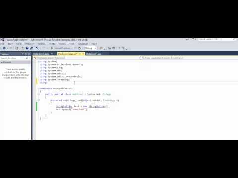 C# - How to fix error StringBuilder could not be fount