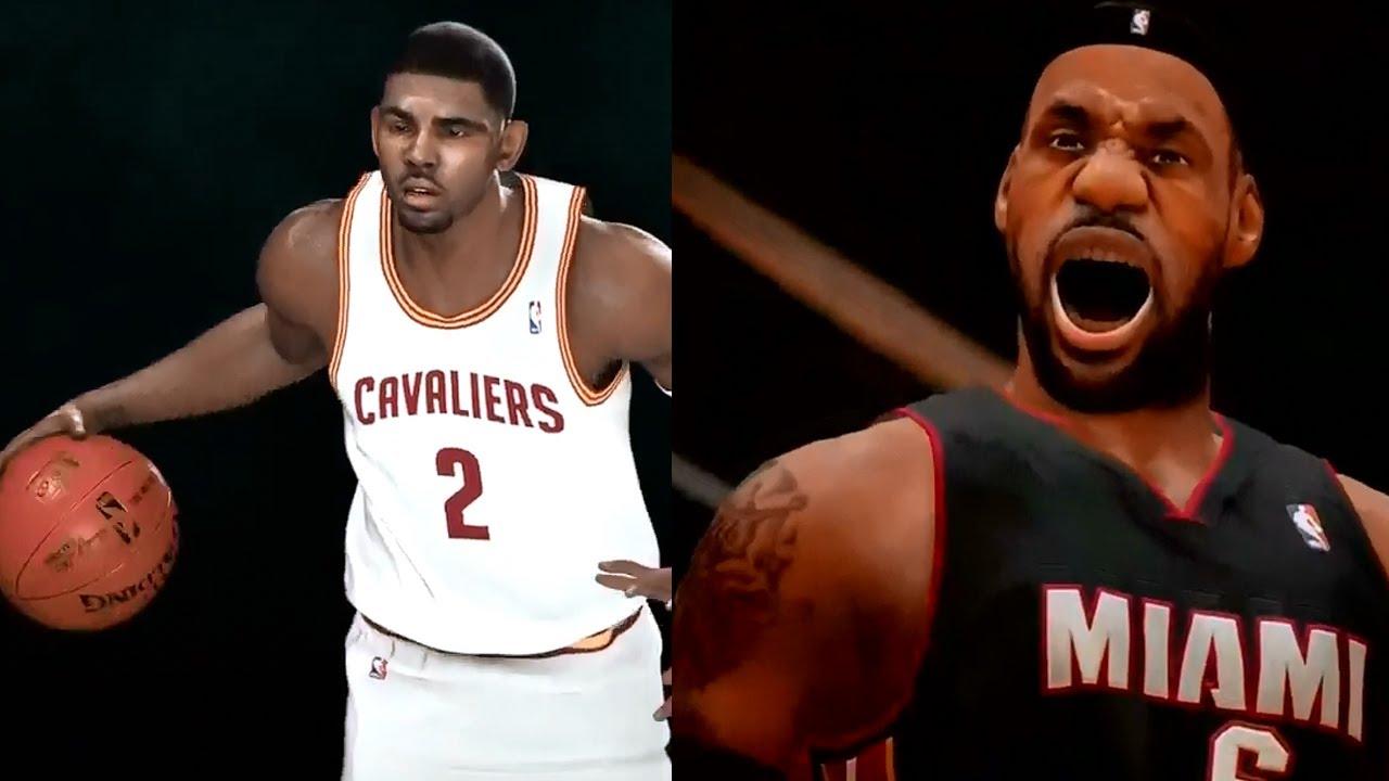 NBA 2K14 vs. NBA Live 14 - PS4 Graphics! - YouTube