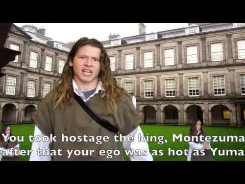 Historic Rap Throwdown - Oliver Cromwell VS Hernan Cortes