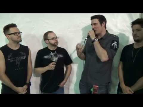 Breaking Benjamin Interview By 92.7 QLZ At Rock On The Range 2015