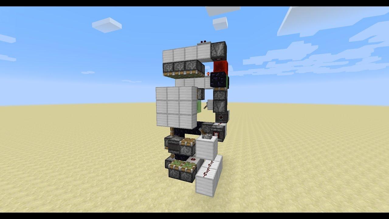 Simple 3x3 flush piston door using Observer block (Minecraft 1.11) & Simple 3x3 flush piston door using Observer block (Minecraft 1.11 ... Pezcame.Com