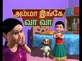 amma ingae vaa vaa - tamil rhymes 3d animated