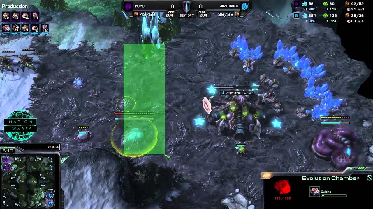 Mexico vs.  Finland - Game 1 - StarCraft 2