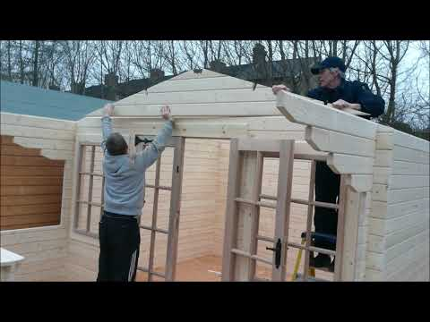 Log Cabin Assembly Guide - Charnwood D 1210+4