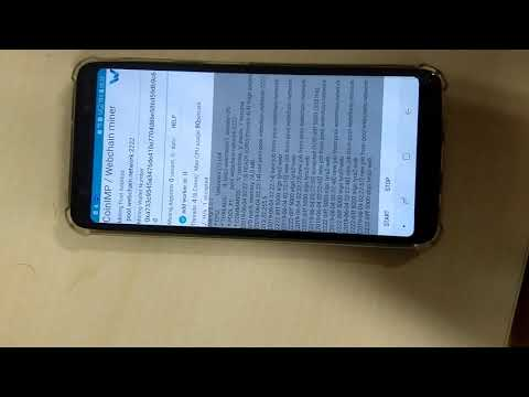 Cryptocurrency Mining Android Smartphone Webchain