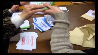 Voila comment se déroule le dépouillement aux elections!  un bureau de vote
