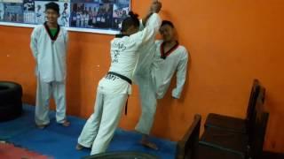 taekwondo splits.