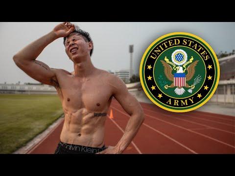 เมื่อผมลองเทสร่างกายด้วย US Army Fitness test ผมจะได้กี่คะแนน ? แล้วคุณละ !!