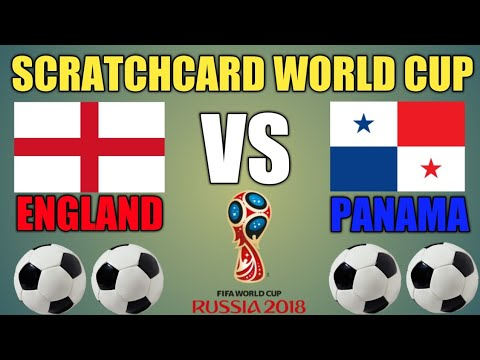 Scratchcard World Cup England  england vs panama