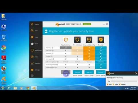 How to install and register avast! Free Antivirus 2014