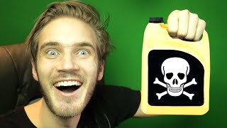 ANTI-FREEZE DRINKING CHALLENGE! | PewDiePie(Don't drink anti-freeze and then sue me pelase. Next Episode ▻ https://www.youtube.com/watch?v=0J836Uqs_o4 Click Here To Subscribe!, 2015-01-03T17:42:41.000Z)