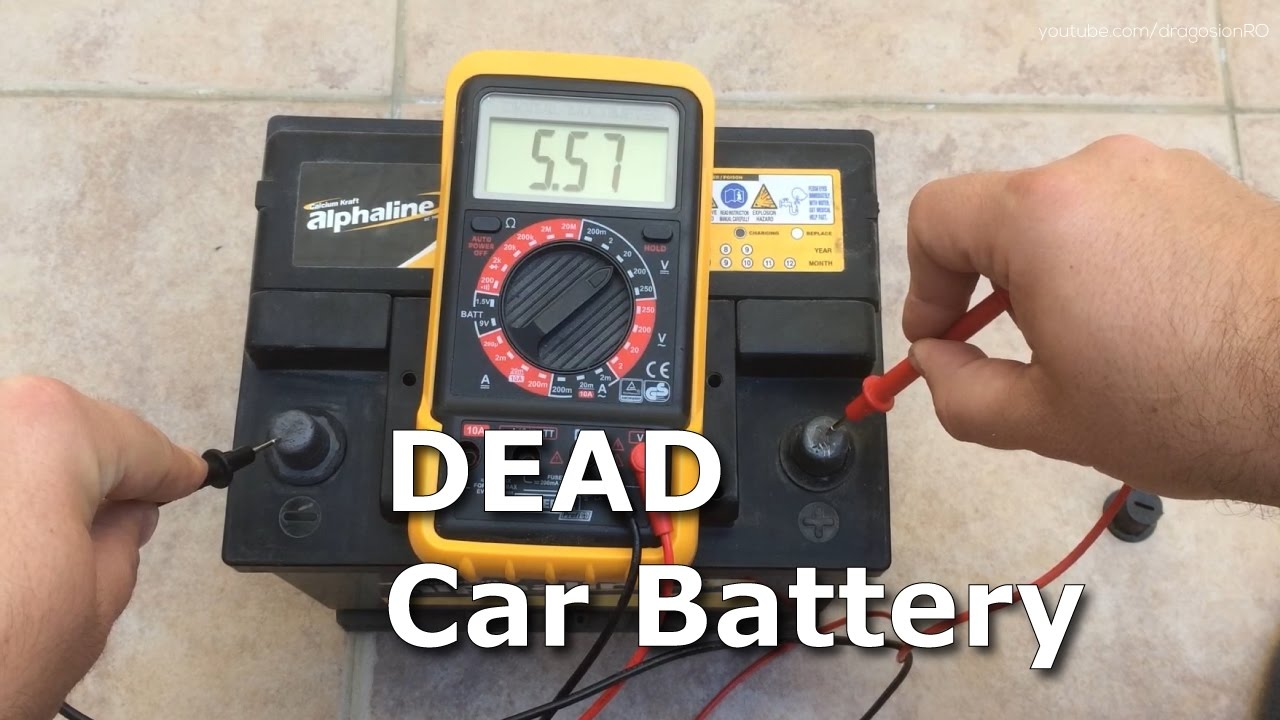 Dead 12v Car Battery Recovery Recharge Revive From 5v