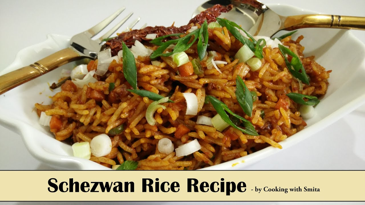 Schezwan rice recipe in hindi by cooking with smita veg schezwan schezwan rice recipe in hindi by cooking with smita veg schezwan fried rice forumfinder Choice Image