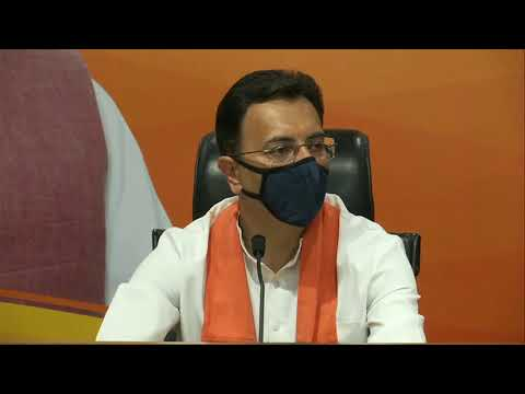 Shri Jitin Prasad joins BJP in presence of Shri Piyush Goyal at BJP HQ.