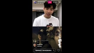 171026 Christian Yu and DPR Live (double IG Live)