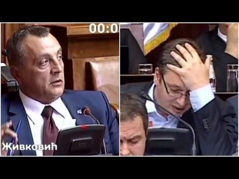 02.07.2015. - Narodni poslanik Zoran Živković propituje premijera! Vučić bez pravih odgovora!