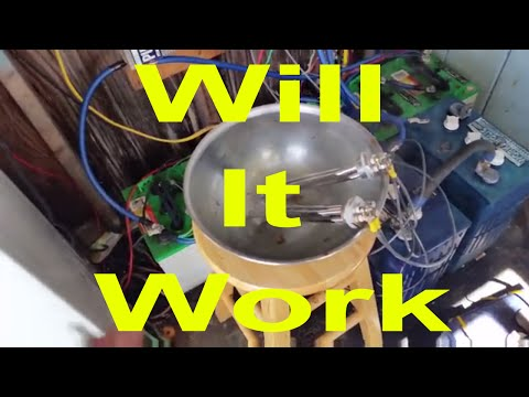 DC Hot Water Heater Tank Dump Load Solar & Wind Part 1