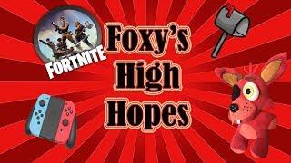 Fnaf Plush-Foxy's High Hopes