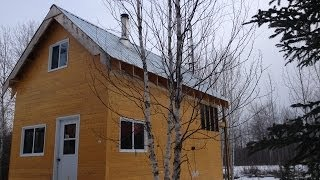Building A Small Off Grid Cabin   Part 1