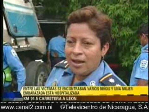Accidente fatal en Leon Nicaragua