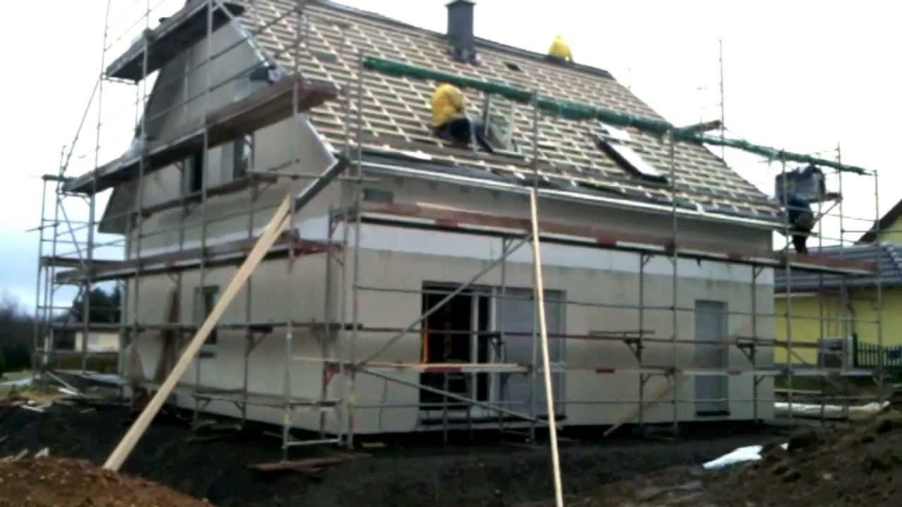 Bauherren Dokumentation - Hausbau mit massa haus - YouTube