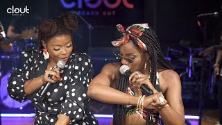 Seyi Shay & Yemi Alade - Pempe (Clout Live Performance)