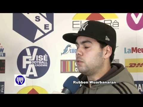 First interview of Ruben Wuarbanaran   CS Visé