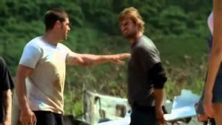 LOST: Sawyer vs Sayid (1x02 Pilot)