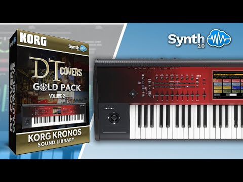 Dream Theater Covers Gold Pack - Sound Bank - Korg Kronos Series - Preview ( Synthcloud library )