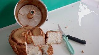 Angel Food Cake - Kuchenfee testet : Angel Cake - Eiweißkuchen - Lohnt sich der Trend ? Kuchenfee